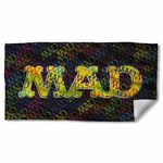 Mad Magazine So Much Mad Towel