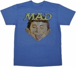 Mad Magazine Wink T Shirt Sheer