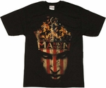 Marilyn Manson Crown T Shirt
