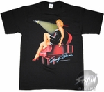 Marilyn Monroe Piano T-Shirt
