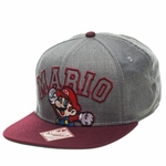 Mario Outline Name Hat