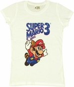 Mario Raccoon Fly Baby Tee