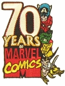 Marvel 70 Years Patch