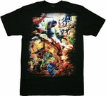 Marvel Battle Group T-Shirt