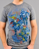 Marvel Chalk T-Shirt Sheer