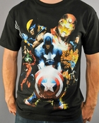 Marvel Civil War T Shirt