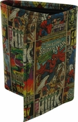 Marvel Comics Hero Covers Tri-Fold Wallet