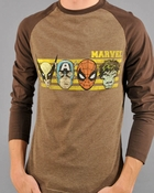 Marvel Faces Raglan T Shirt