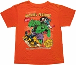 Marvel Feature Burnout Youth T Shirt
