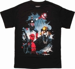 Marvel Good Bad Ugly Trio T Shirt