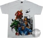 Marvel Group Shot T-Shirt