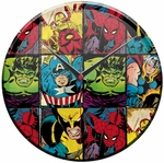 Marvel Hero Glass Clock