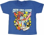 Marvel Hero Squad Join Toddler T Shirt