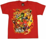 Marvel Hero Up Juvenile T-Shirt