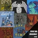 Marvel Junk Food Shirts