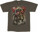 Marvel Lightning T Shirt