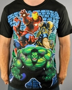 Marvel Names T Shirt