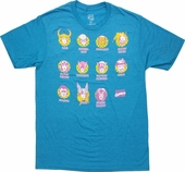 Marvel Pop Team Heads T-Shirt