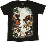 Marvel vs Capcom 3 Cloud T Shirt Sheer