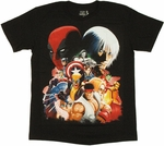 Marvel vs Capcom 3 Cover T Shirt Sheer