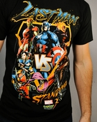 Marvel vs Capcom 3 Last Man T Shirt Sheer