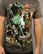 Marvel vs Capcom 3 Team Combo T Shirt Sheer