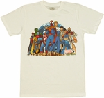 Marvel vs Capcom Cliff T Shirt Sheer