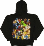 Marvel vs Capcom Cover Hoodie