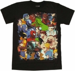Marvel vs Capcom Cover T-Shirt Sheer
