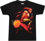 Marvel Zombies Green Goblin T Shirt Sheer