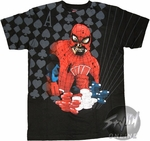 Marvel Zombies Spiderman Poker T-Shirt