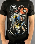 Marvel Zombies Spiderman Venom T-Shirt