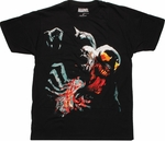 Marvel Zombies Venom T Shirt Sheer