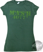 Mash 4077th Words Baby Tee