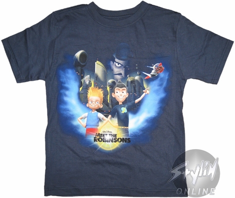 Meet the Robinsons Buildings Youth T-Shirt