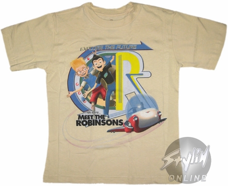 Meet the Robinsons Explore Youth T-Shirt