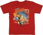 Meet the Robinsons Keep Moving Youth T-Shirt