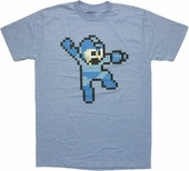 Mega Man Jump T Shirt Sheer