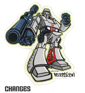 Megatron Stickers