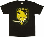Metal Gear Solid Fox Hound T Shirt