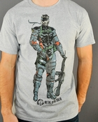Metal Gear Solid Snake Full T Shirt