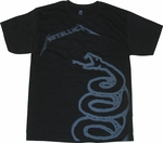 Metallica Black Album T Shirt