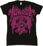 Metallica Wings Baby Tee