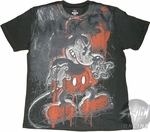 Mickey Mouse Angry T-Shirt Sheer