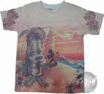 Mickey Mouse Beach Youth T-Shirt