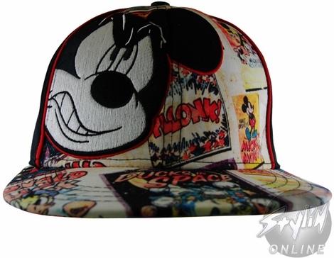 Mickey Mouse Collage Hat