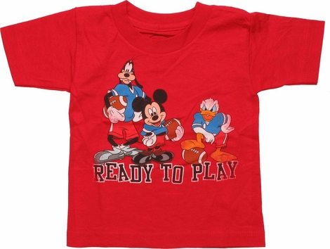 Mickey Mouse Friends Ready to Play Toddler T-Shirt