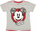 Mickey Mouse Head Cape Toddler T Shirt