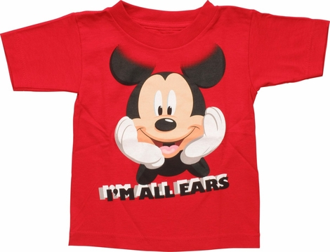 Mickey Mouse I'm All Ears Toddler T-Shirt