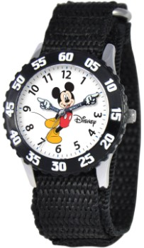 Mickey Mouse Kids Time Teacher Black Watch